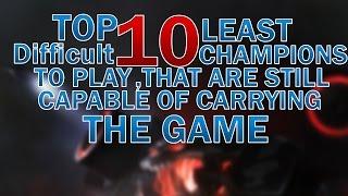 TOP 10 Easiest Carries