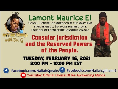 Consular Jurisdiction and the Reserved Powers of the Peopl - Lamont Maurice El