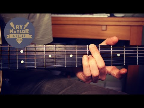 Easy Chords in Open D Tuning - Altered Tuning Guitar Lesson