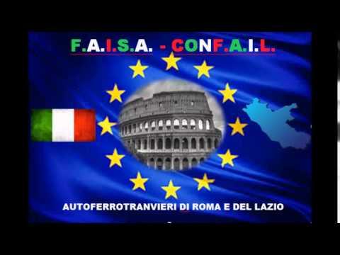 FAISA CONFAIL PER LA SICUREZZA NEI BUS DI ROMA RADIO +  1/2