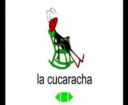 La Cucaracha Song from MusicalSpanish.com