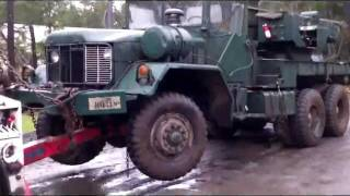 IMPOUNDED 5 TON MILITARY WRECKER-1/1