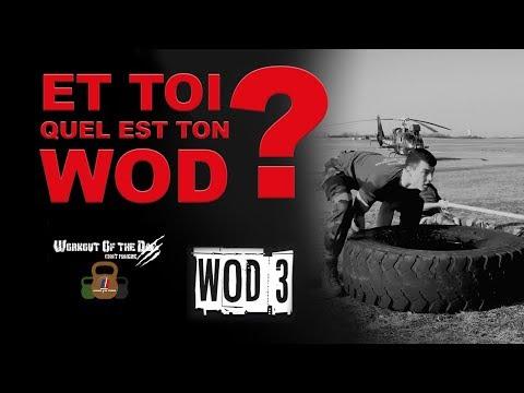 Tuto Sport - le WOD du 3e RHC - N°7