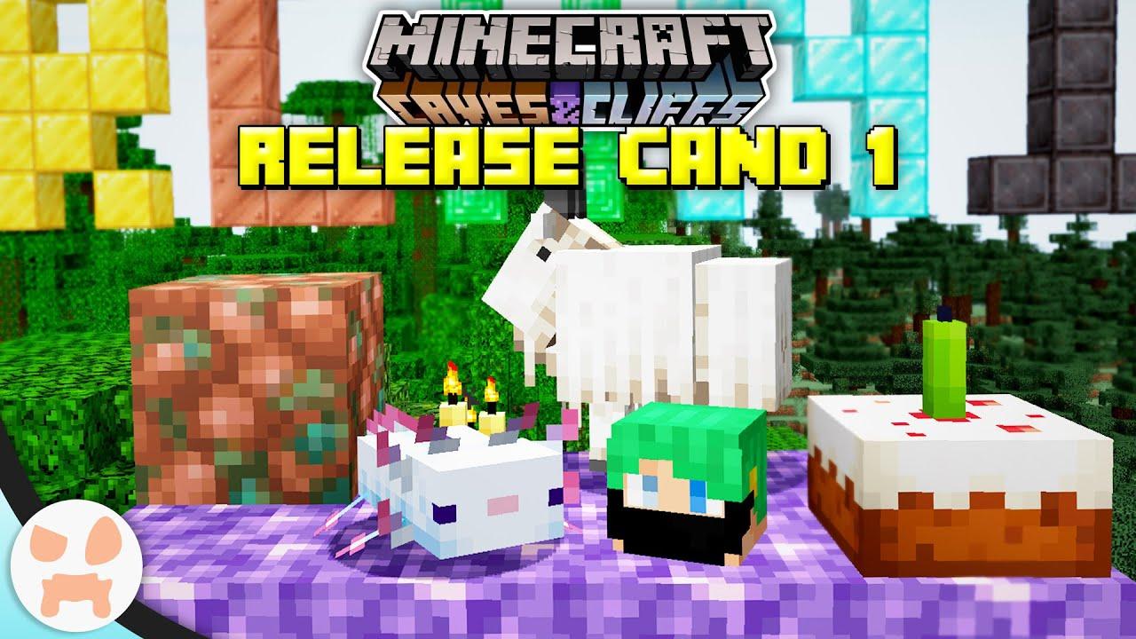 Minecraft 1.17 Caves & Cliffs Update Part 1: Patch notes, new ...
