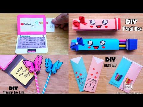 4 Best DIY Back To School Craft Ideas In Lockdown | Back To School Craft | Paper Craft | Easy Craft