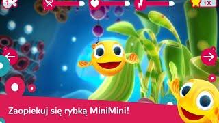 Let's Play • Wodny Świat Rybki MiniMini • dla dzieci po Polsku, Nauka, Zabawa, Bajki, Gry dla dzieci