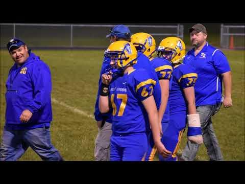 West Greene Jr  High Football Video 2017