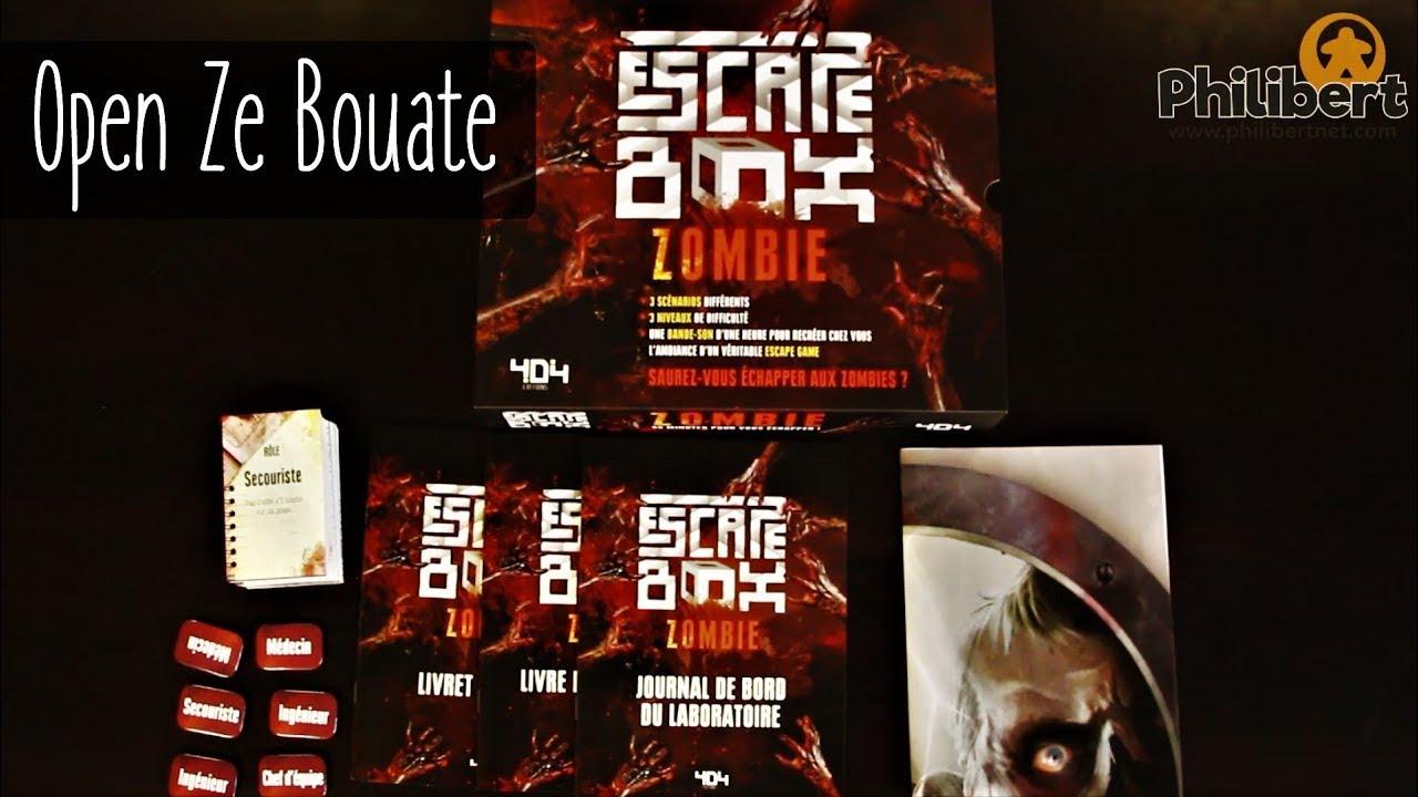 Escape Box Zombie Open Ze Bouate