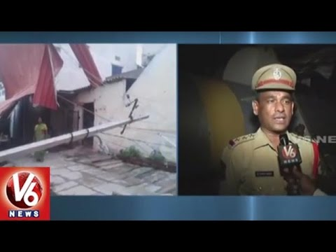 Hyderabad Police Reacts Over Hoarding Collapse At Jubilee Check Post | V6 News
