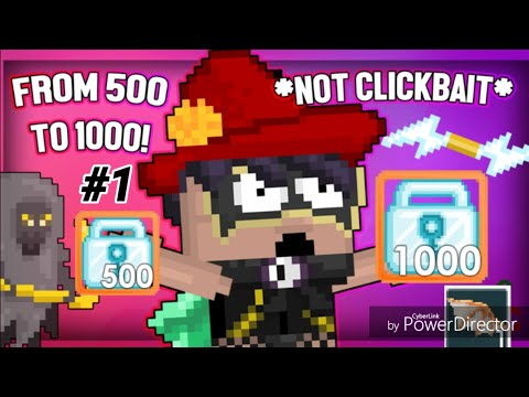 500Dl To 1000Dl #1 [ Selling Tons Stuff! ] - Growtopia