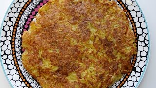 Hash Brown Potatoes / Fettfreie Kartoffelrösti (vegan & Hclf)