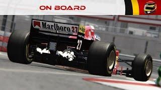 On Board #96 : Ferrari 412T2 by ASRF (Monaco) [4K]