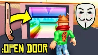 PRETENDING to be a JAILBREAK HACKER.. (Noclip Through Walls!) | Roblox Jailbreak