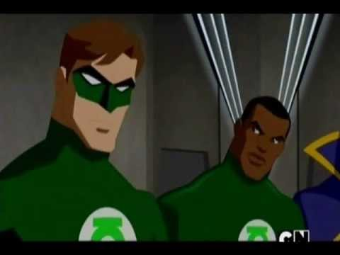 The flash (Barry Allen) suggest Guy Gardner as the third GL