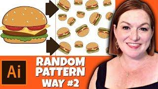 How to Create a Random Pattern in Adobe Illustrator - Seamless & Rotate Pattern Illustrator 2019