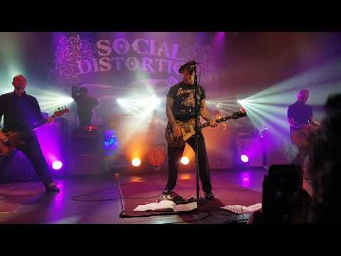 Social Distortion at The Danforth Music Hall. Oct 10th, 2018. #1