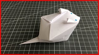 оригами ХОМЯК. Как сделать из бумаги ХОМЯКА