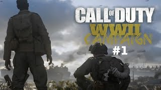 WHAT A BEAUTIFUL GAME! | CALL OF DUTY WW2 CAMPAIGN *PART1*