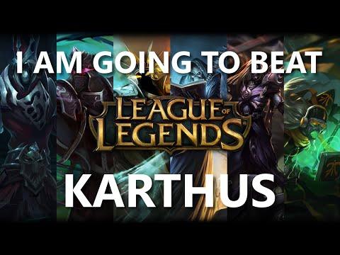 Trinimmortal beats League: Karthus