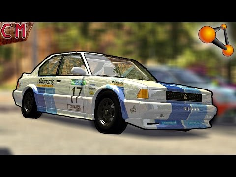 BeamNG Drive Rally Crashes #1