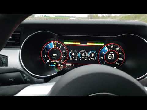 Performance Shift Indicator Mustang Digital Dash