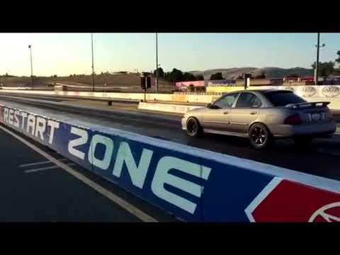 Karl's Built Turbo Sentra Goes 12s