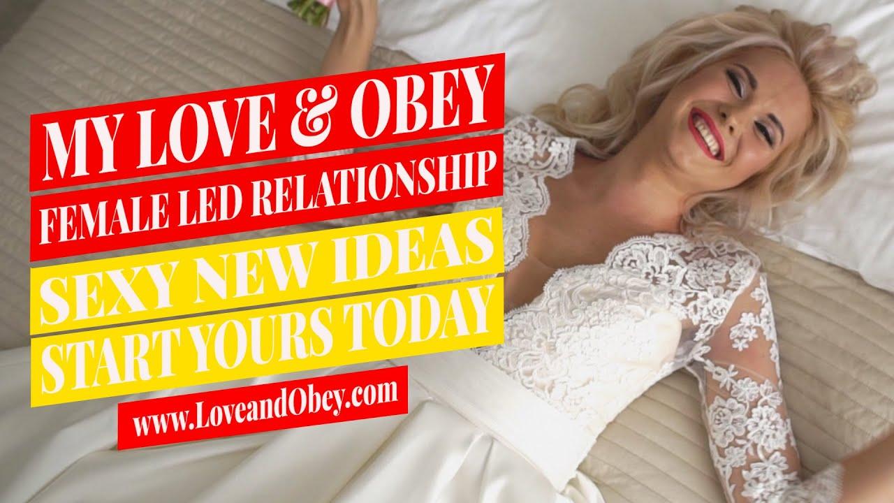 Relationship ideas led female Making your