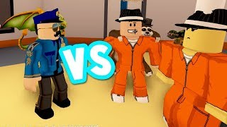 Craziest Roblox Jailbreak Cops vs Räuber | 2018