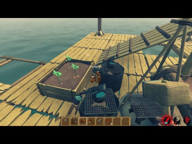 raft lets play ep 2 (ep 1 got deleted) DEAD BY HACKING SHARK???
