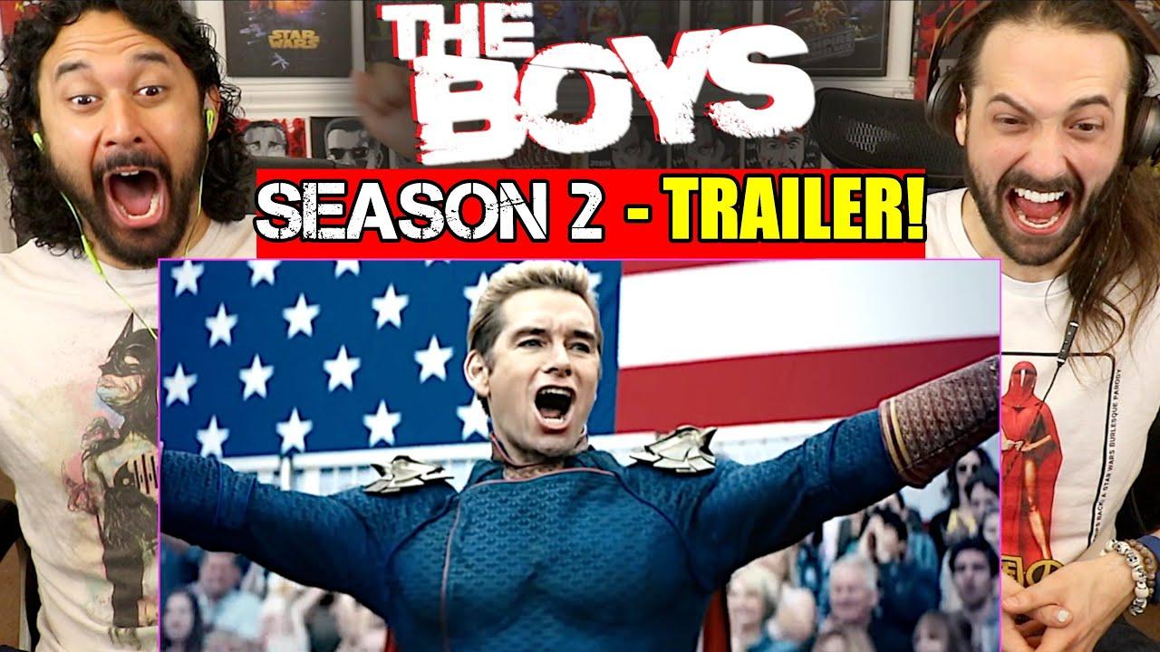 THE BOYS SEASON 2 Teaser TRAILER - REACTION!