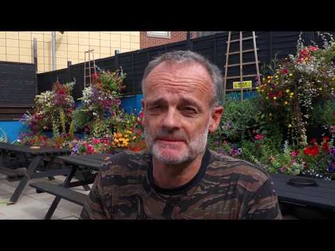 Urban Wild Camp in the City of Sheffield