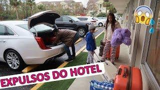 FOMOS EXPULSOS DO HOTEL NOS ESTADOS UNIDOS ? = BelaBagunça =