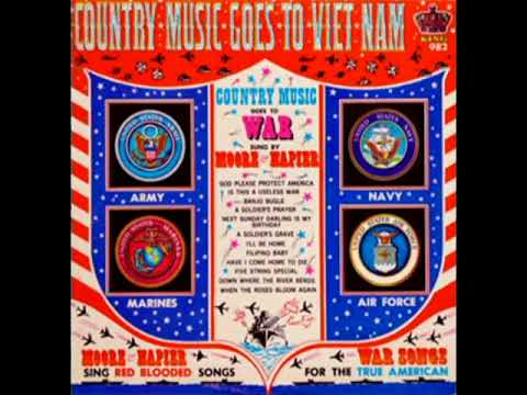 Country Music Goes To Vietnam [1966] - Charlie Moore, Bill Napier & The Dixie Partners