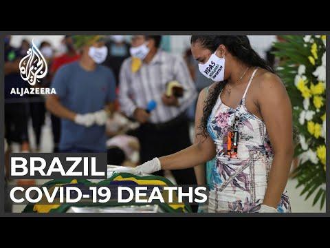 Brazil's president defiant as coronavirus death toll soars