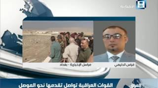 فراس الدليمي: القوات الأمنية لازالت تجري مع عناصر داعش اشتباكات داخل مدينة كركوك