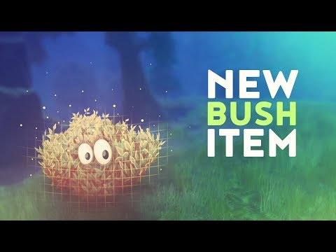 NEW BUSH ITEM! (Fortnite Battle Royale)