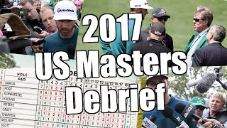 Peter Webb, Bet Angel - 2017 US Masters Debrief