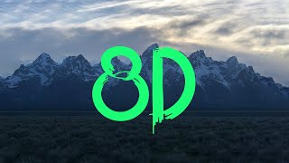 Kanye West - Wouldn't Leave   8D Immersive Audio 🎧