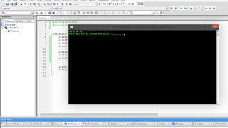 C Programming Tutorial Change Console Background and Font Color