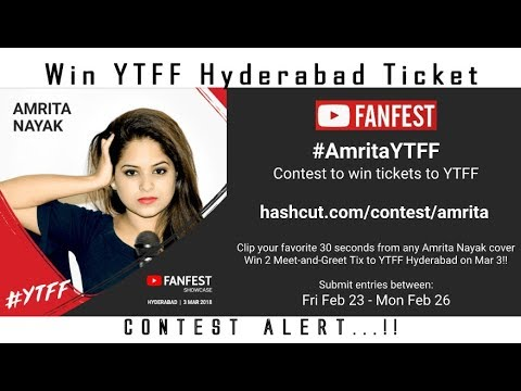 Win ytff hyderabad passes contest and giveaway meet and greet win ytff hyderabad passes contest and giveaway meet and greet tickets m4hsunfo