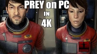 Prey PC: 4K / 60FPS / Ultra Settings (1080ti) - Opening 15 minutes & Game Options