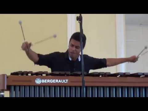 Merlin by Andrew Thomas for marimba solo - Sorie Bangura (France)