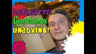 Goosebumps Unboxing From ZakBabyTV!