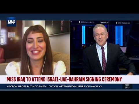 Miss Iraq 2017 Sarah Idan Praising Israel-UAE-Bahrain Peace Deals