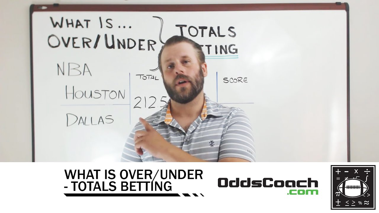Over under betting does mean greater binary options indicator 2021 nba