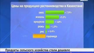 В РК продукция сельского хозяйства стала дешевле(, 2013-10-09T15:25:20.000Z)