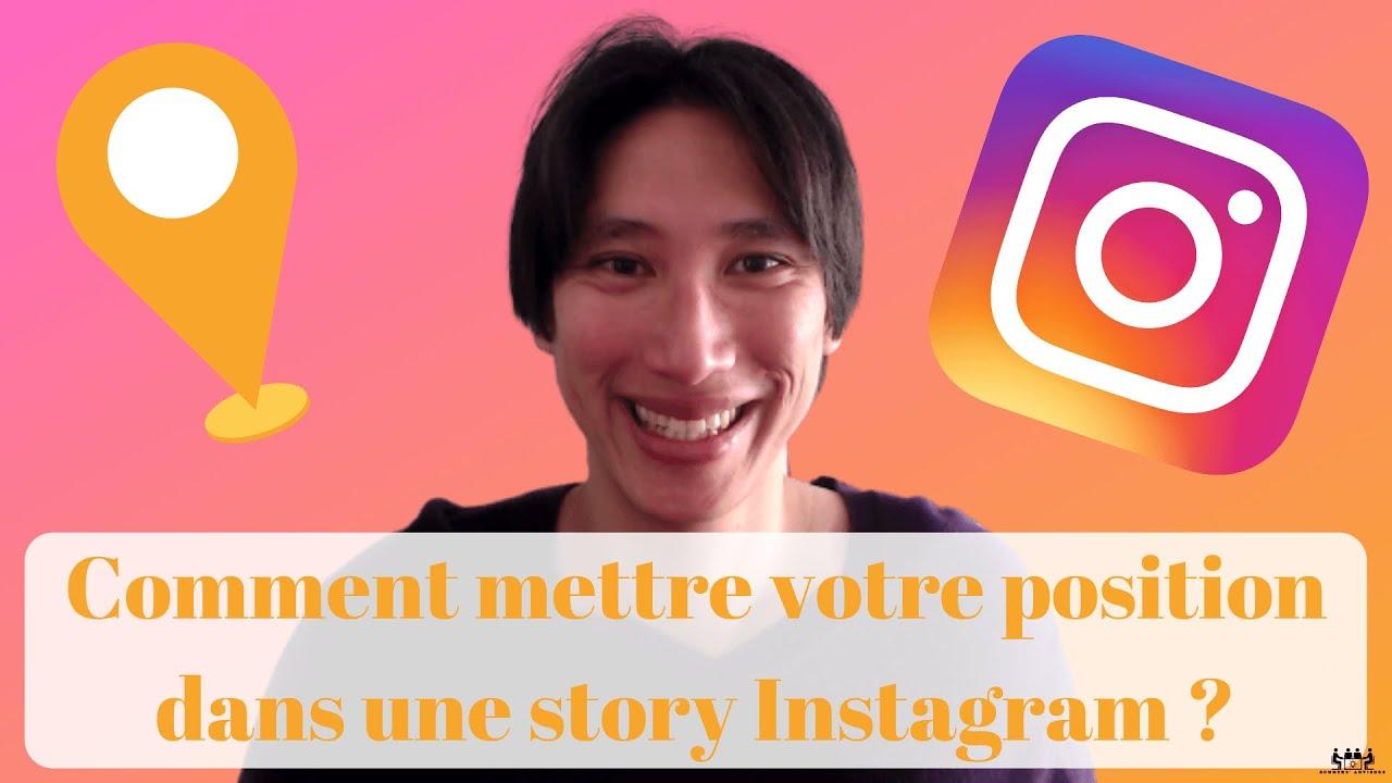 Tuto Instagram : Comment géolocaliser avec le sticker Position le lieu d'une story Instagram ? 📍🗺