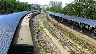 Chottola Express of BD Train departing Airport Railway Station