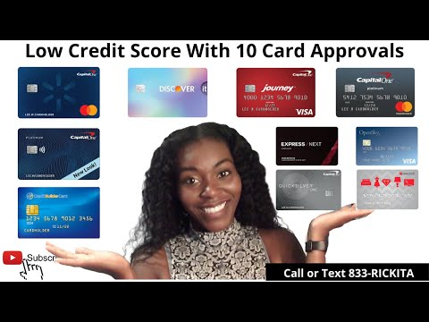 Approved For 10 Credit Cards With Low Credit Score