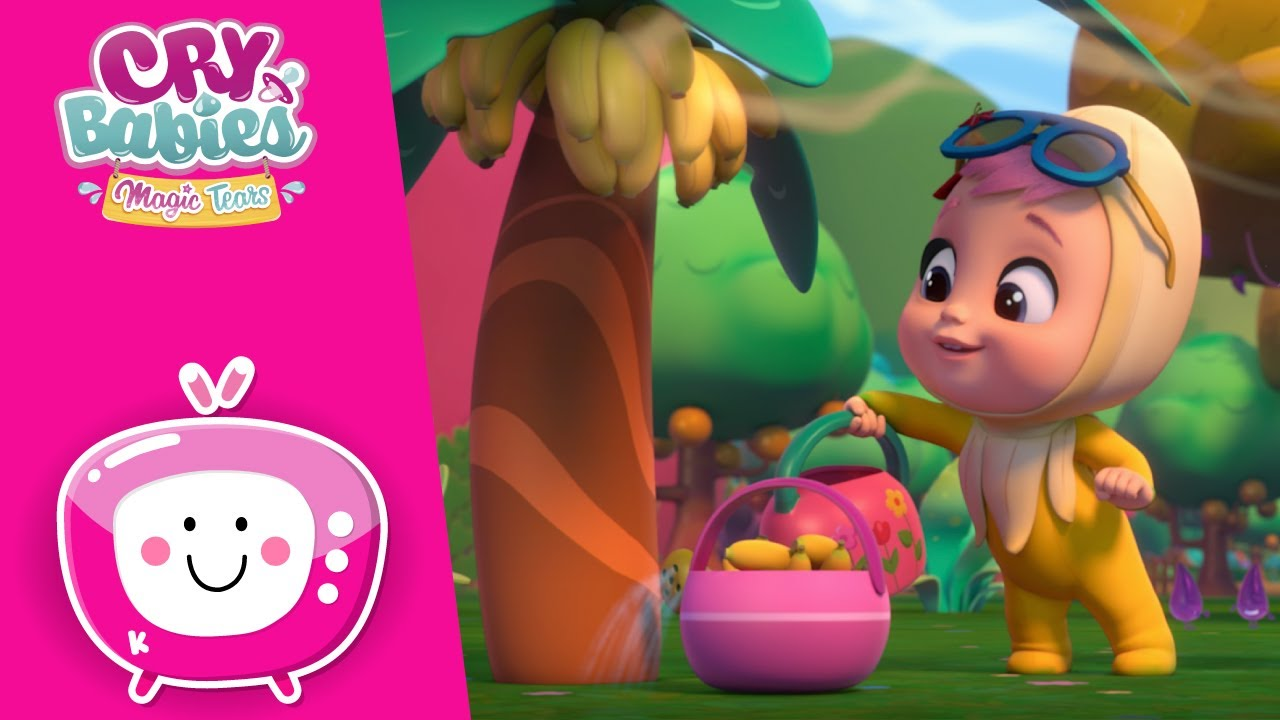 🍌🍌 THE FRUIT THIEF 🍌🍌 TUTTI FRUTTI 🍉🍌 CRY BABIES 💧 MAGIC TEARS 💕 NEW Episode 🌈 CARTOONS in ENGLISH